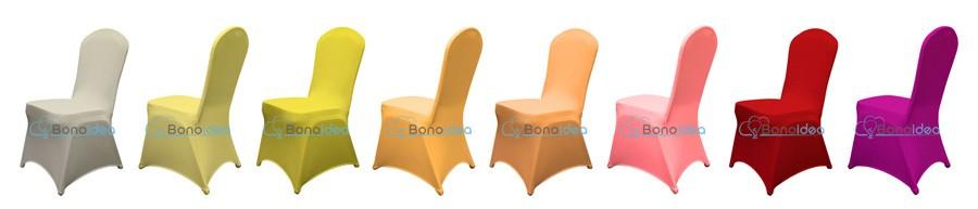 bonoidea pokrowce uniwersalne lycra na krzesla 1 m