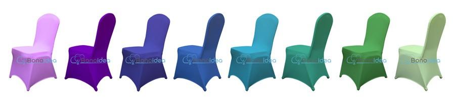 bonoidea pokrowce uniwersalne lycra na krzesla 2 m